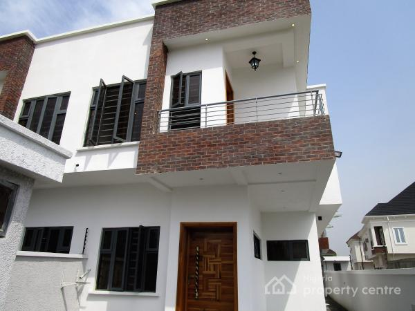 Semi detached duplexes for sale in ikota villa estate - 4 bedroom duplex for rent near me ...