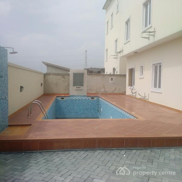 For sale seven bedroom duplex with swimming pool in a for Duplex house plans with swimming pool