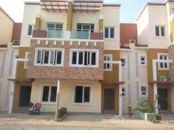 Premium 3 Bedroom Terrace with Bq, on Jaja Nwachukwu Crescent, Wuye, Abuja, Terraced Duplex for Sale