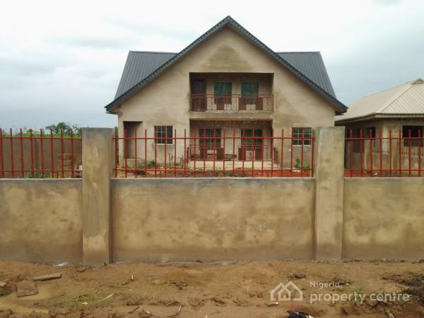 For sale new 4 bedroom fully detached house on full plot of land lotto mowe ofada ogun 4 - Houses for small plots of land ...