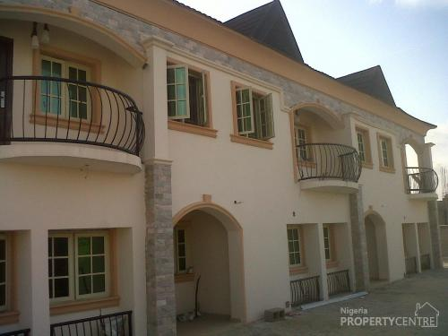For sale 4 bedroom terraced house agungi lekki lagos for Types of houses in nigeria