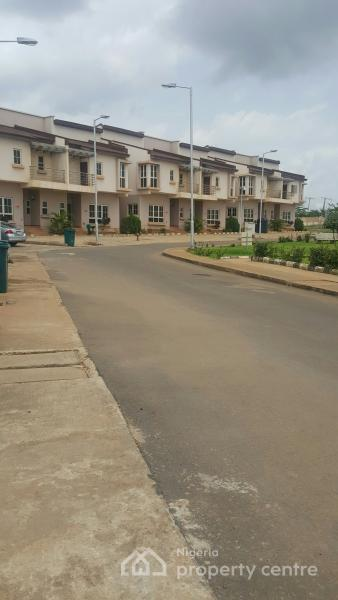 Exquisite 4 Bedroom Terrace with Excellent Facilities, Metro City Road, Apo, Abuja, Terraced Duplex for Sale