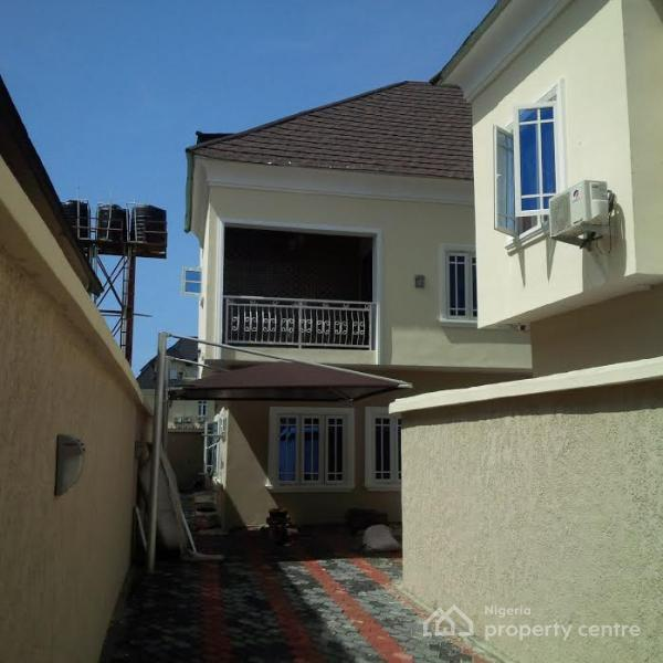 For Sale Brand New 5 Bedroom Semi Detached House With Bq Agungi Lekki Lagos 5 Beds 5