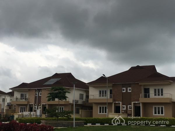 Exquisite 4 Bedroom Duplex with Play Grounds and Green Area, Apo, Abuja, Semi-detached Duplex for Sale