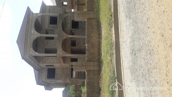 Five Bedroom Duplex Carcass, Lingo Estate, Lokogoma District, Abuja, Detached Duplex for Sale