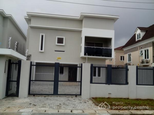 For Sale Brand New Finished 5 Bedroom Fully Detached Duplex With 2 Boys Quarters Lekki Phase