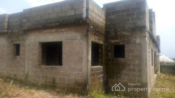 For sale fully fenced 3 bedroom 4 unit uncompleted for How many blocks can build 3 bedroom flat