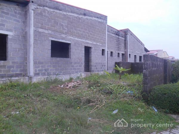 Carcass 3 Bedroom Bungalow for Sale in Mayfair Gardens Estate, Mayfair Garden Estate, Lekki, Lagos, Semi-detached Bungalow for Sale