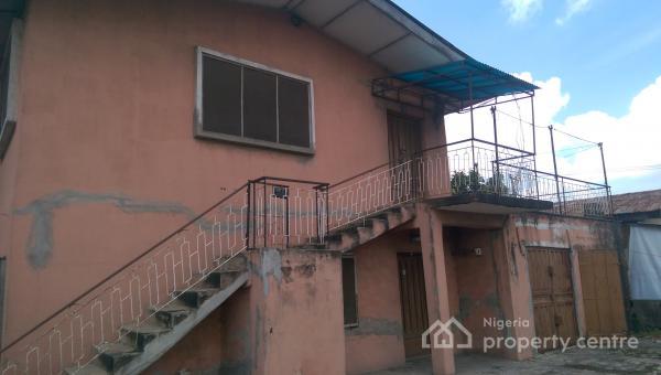 a 4 Flats 3 Bedroom Each with 2 Shops, Oremeji Street,off Aguntasolo Street, Nepa B/stop,ijesha Road, Ijeshatedo, Surulere, Lagos, Self Contained (studio) Flat for Sale