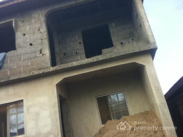 For sale one uncompleted story building with 3 units of 2 for How many blocks can build 3 bedroom flat