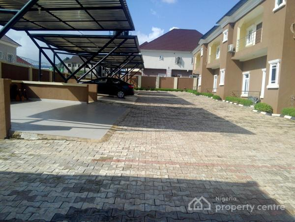 Newly Built and Tastefully Finished 3 Bedroom Terraced House, Durumi, Abuja, Terraced Duplex for Rent
