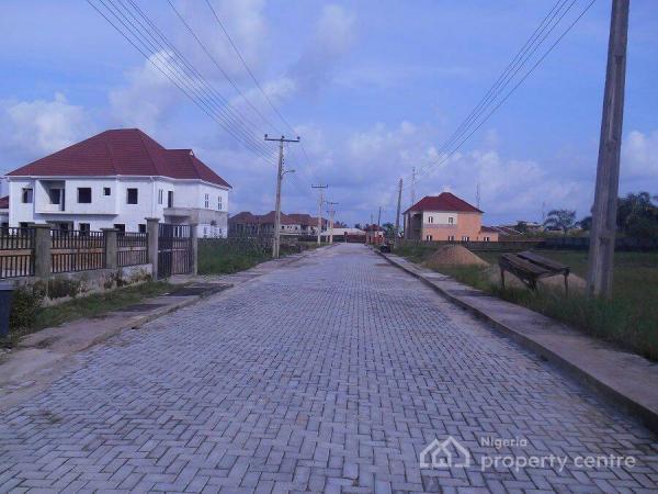Service Plots of Land, Amity Estate, Abijo Off Lekki-epe Expressly Way, Sangotedo, Ajah, Lagos, Residential Land for Sale