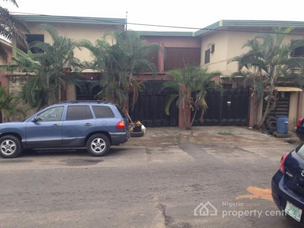 2 (nos) Five Bedroom Semi-detached Duplex with Two Room Bq Each on 804sqm Plot of Land (both), Off Wempco Road, Ogba, Ikeja, Lagos, Semi-detached Duplex for Rent
