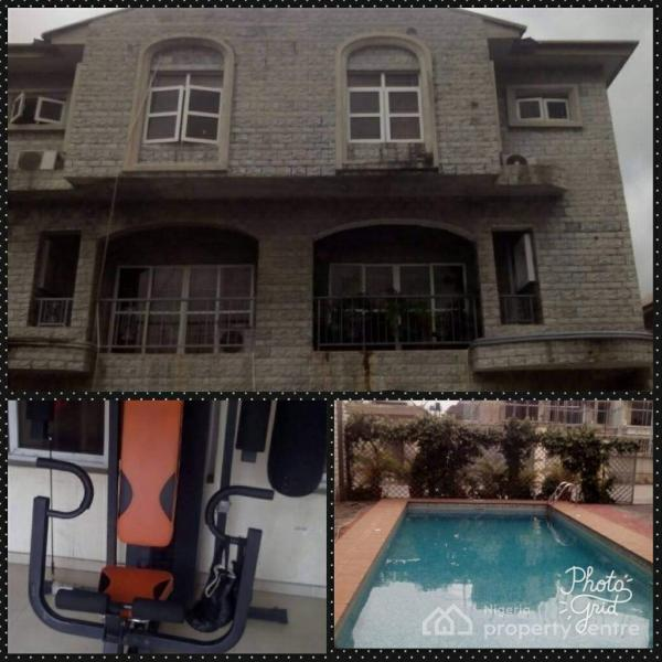 For Rent: Serviced 4 Bedroom Town House , Off Nassarawa