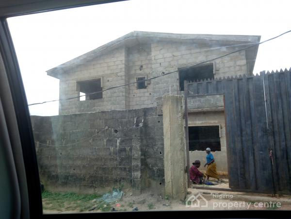 For sale uncompleted story building of four numbers of for How many blocks can build 3 bedroom flat