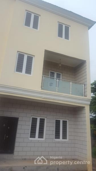 Luxury Five 5 Bedroom Terrace Duplex with a Maids Room, Lungi Street, Wuse 2, Abuja, Terraced Duplex for Sale