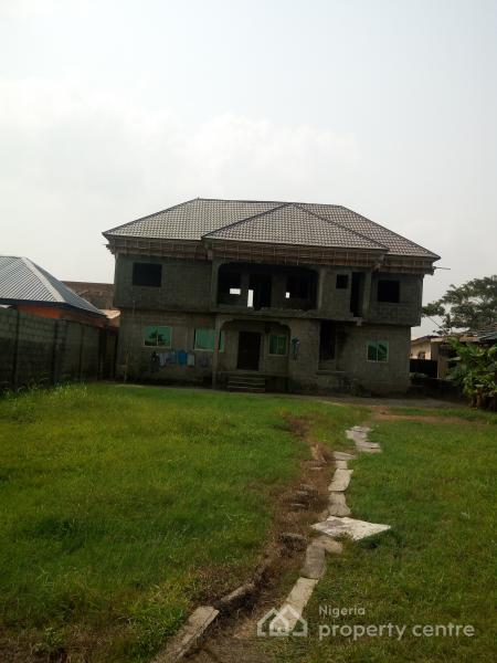 a Plot of Land with 2 Flats of Uncompleted 3 Bedroom, Seaside Estate, Badore, Ajah, Lagos, Residential Land for Sale