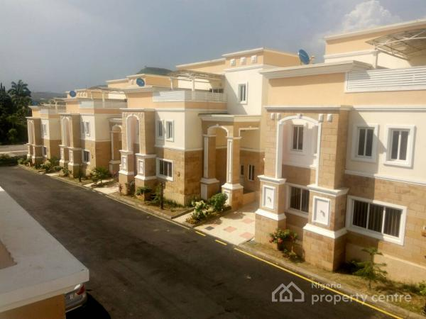State of The Art Luxury 3 Bedrooms Duplex with Bq, Maitama District, Abuja, Terraced Duplex for Rent