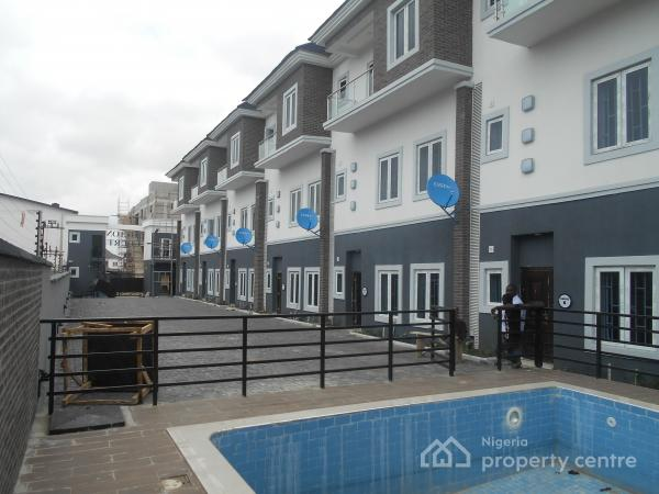 Luxury 4 Bedroom Terrace Duplex with Excellence Facilities, Ikate Elegushi, Lekki, Lagos, Terraced Duplex for Sale