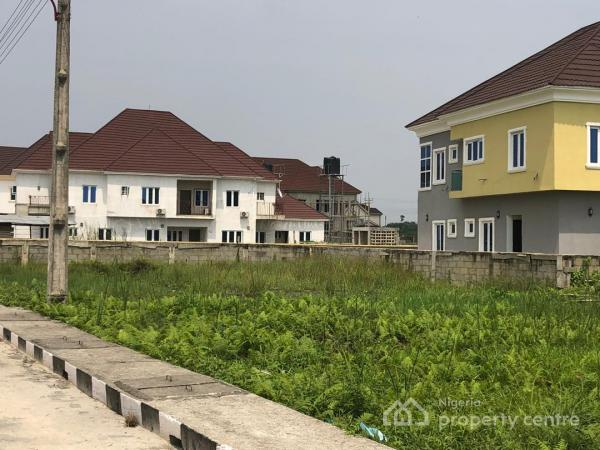 4 Bedroom Semi  Detached Duplex and 1 Room Bq in Amity Estate(mortgage Option Is Available ), Sangotedo, Ajah, Lagos, Semi-detached Duplex for Sale