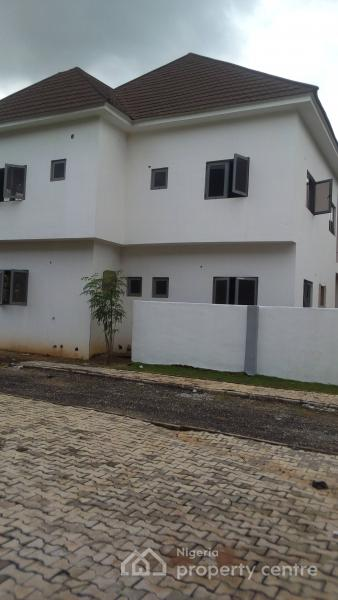 Affordable 4 Bedroom Semi-detached Duplex with 1 Room Bq, Plot 1150, Wuye, Abuja, Semi-detached Duplex for Sale