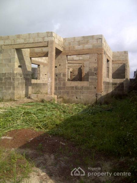 3 Bedroom Flat and 1 Mini- Flat on Half Plot, in an Already Developed Area, 5 Mins Drive From Mowe Bus Stop, Mowe Ofada, Ogun, Detached Bungalow for Sale