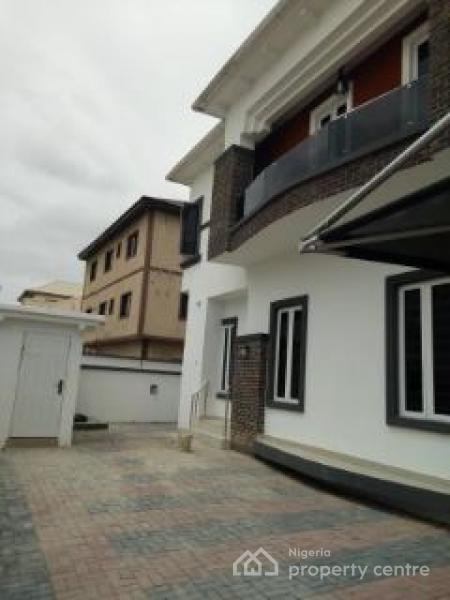 Tastefully Finished 5 Bedroom Duplex with  a Room Bq, Shoprit Road, Osapa, Lekki, Lagos, Detached Duplex for Rent