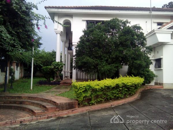 Fully Detached 5 Bedrooms Ambassadorial Duplex with 2 Rooms Guest Chalets and 2 Rooms Bq, Off Gana Street, Maitama District, Abuja, Detached Duplex for Rent