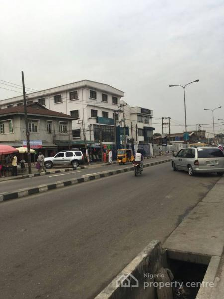 a Well Located Storey House, Itire Road / Luth Junction, Itire-ikate, Surulere, Lagos, Detached Duplex for Sale