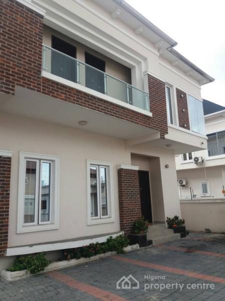 Relatively New Fully Detached 5 Bedroom En-suite Duplex with Bq, Bakare Estate, Agungi, Lekki, Lagos, Detached Duplex for Rent