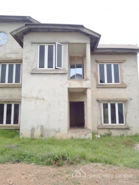 80% Finished 3 Bedroom Semi Detached Duplex, Off Sunnyvale, Galadimawa, Abuja, Semi-detached Duplex for Sale