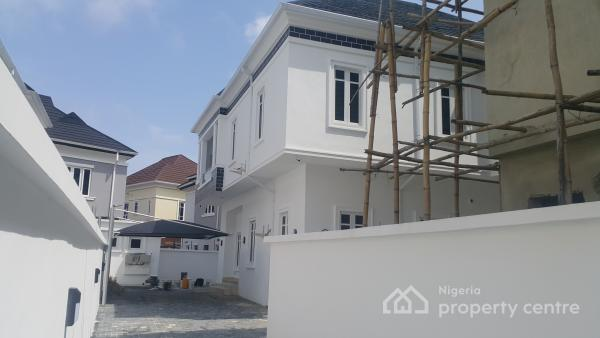 Brand New Massive 5-bedroom Fully Detached House with Bq, Osapa, Lekki, Lagos, Detached Duplex for Sale