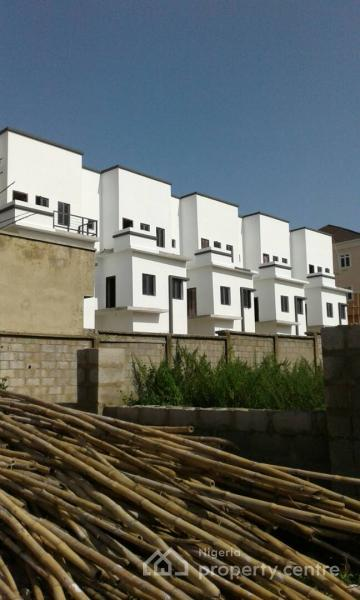 a 4 Bedroom Terrace Duplex with a Standard Boys Quarters Attached, Off Gilmore Yard, Guzape District, Abuja, Terraced Duplex for Sale