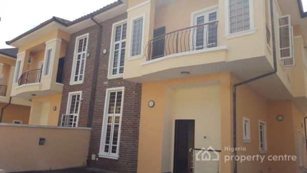 Brand New and Luxuriously Finished 4 Bedroom Semi-detached House with En Suite Boys Quarters, South Lake Homes, Ologolo, Lekki, Lagos, Semi-detached Duplex for Sale