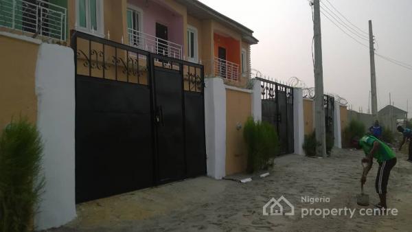 Brand New 2 Bedroom Terrace Duplex, Around Mayfair Garden, Awoyaya, Ibeju Lekki, Lagos, Terraced Duplex for Sale