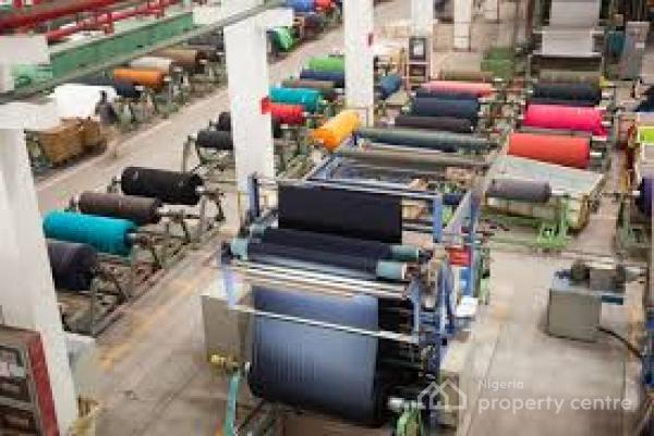 Massive Textile Factory, Kachia Road, Kakuri, Kaduna South, Kaduna, Factory for Sale