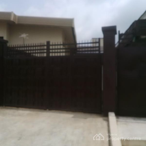 a Newly Renovated 3 Bedroom Duplex with 3 Rooms Bq, Olaogun Street, Adelabu, Surulere, Lagos, Detached Duplex for Rent
