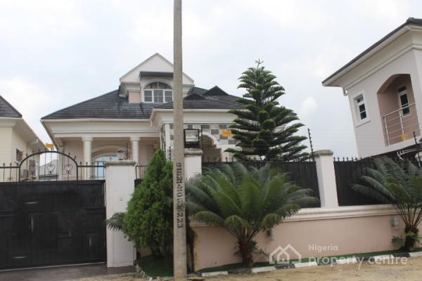 Lovely Big Fully Detached House, Sangotedo, Ajah, Lagos, Flat for Rent