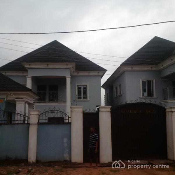 For sale luxury twin detached duplexes with boys quarter for Detached garages for sale