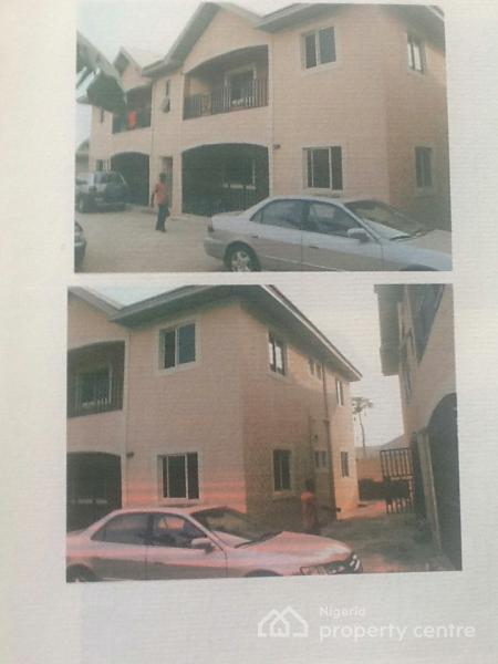 Well Built 2 Blocks Containing 4 Units of 2 Bedroom Each, Off Njioku Street, Etche, Rivers, Block of Flats for Sale
