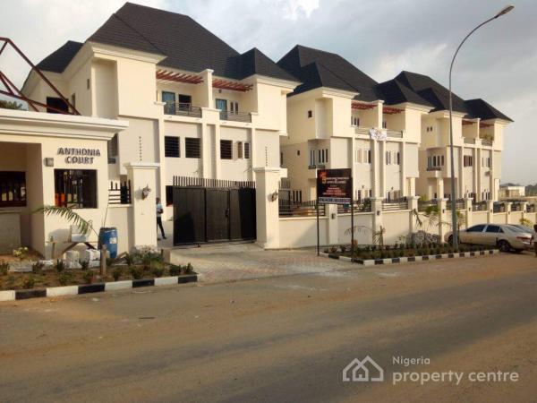 5 Bedroom Terrace Apartments with a Bq, Guzape District, Abuja, Detached Duplex for Sale