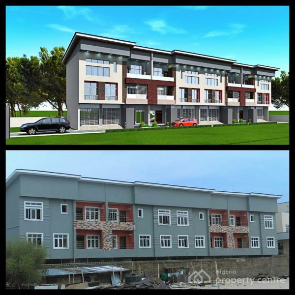 Exquisitely Finished 4 Bedroom Terrace House with 1 Room Bq, Off Oniru Palace, Oniru, Victoria Island (vi), Lagos, Terraced Duplex for Sale