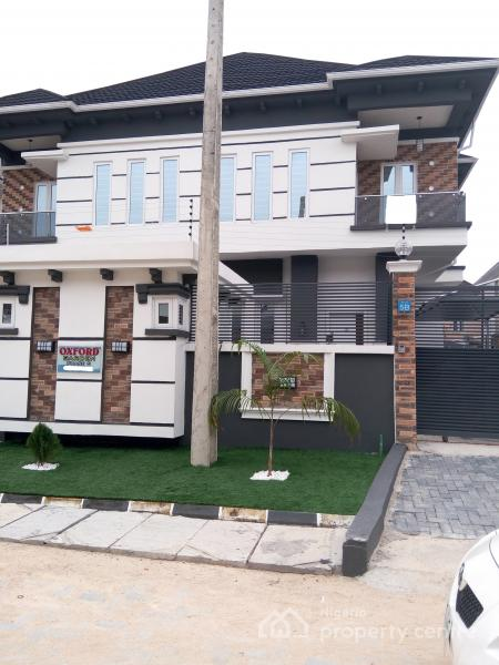 For rent newly built 4 bedroom semidetached duplex with a for B q bedrooms fitted