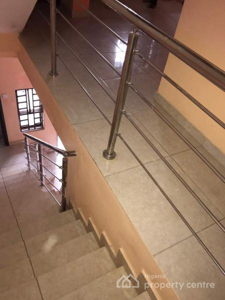 Well Built & Serviced 3 Bedrooms Terrace Duplex with a Room Bq & Swimming Pool, By Next Cash N Carry Mall, Jahi, Abuja, Terraced Duplex for Rent