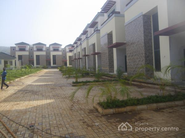 New Serviced 4 Bedroom+bq {corporate Letting}, Katampe Extension, Katampe, Abuja, Terraced Duplex for Rent