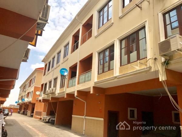 Four Bedroom Terrace with a Room Bq for Rent in a Mini Estate, Ikate Elegushi, Lekki, Lagos, House for Rent