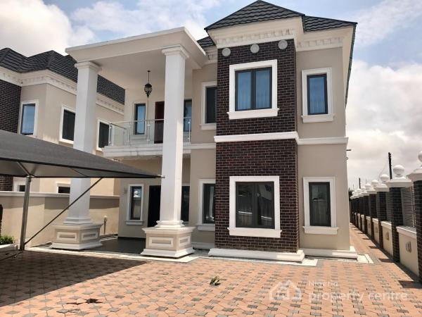 five bedroom house. five bedroom fully detached house with a room bq, lekki right hand side,