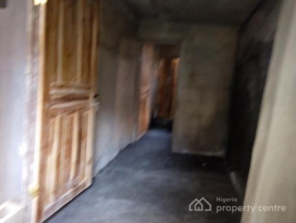 Lovely Newly Built Single Room Self (bq), Adekunle, Yaba, Lagos, Self Contained (studio) Flat for Rent