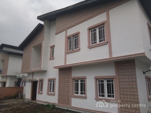 Brand New Tastefully Finished 4 Bedroom Detached Duplex with a Room Bq, Lekki Palm Estate, Ajah, Lagos, Detached Duplex for Rent