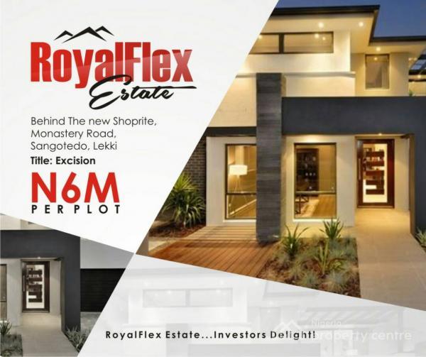 Royal Flex Estate 1, Behind Novare Shoprite, Sangotedo, Ajah, Lagos, Residential Land for Sale